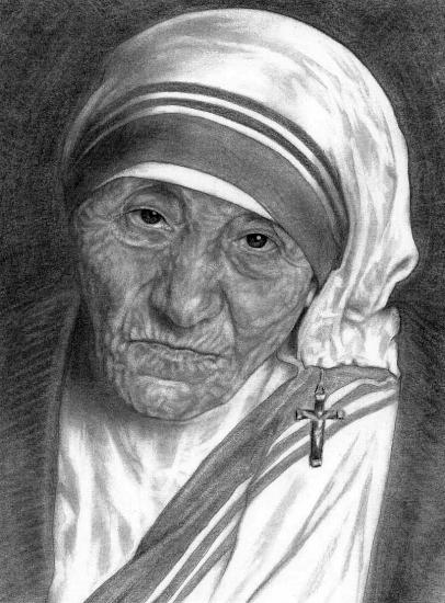 Mother Teresa by vltz